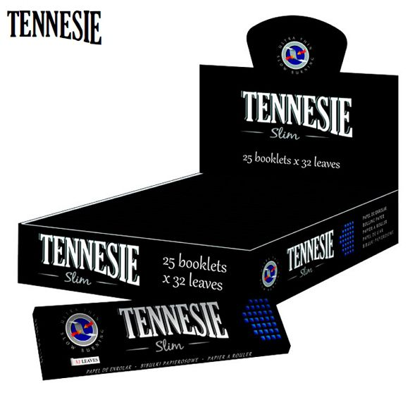 CARTINE TENNESIE KS SLIM 25pz BLACK - C80