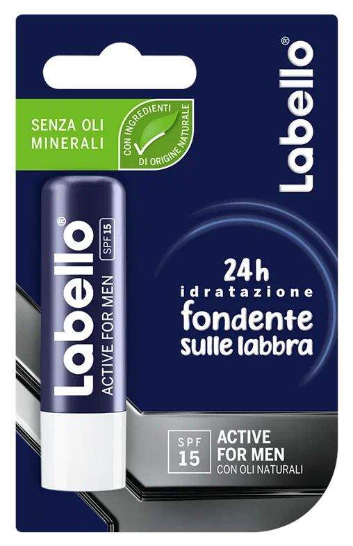 BURROCACAO LABELLO FOR MEN BLISTER 1pz ACTIVE CARE