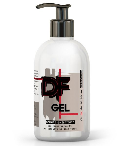 GEL DF STYLE DISPENCER 500ml EXTRA FORTE 1pz - C12