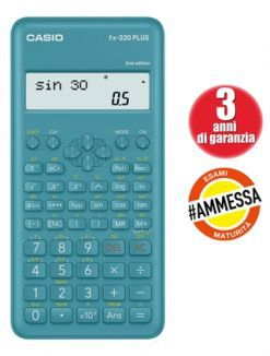 CALCOLATRICE CASIO PLUS SCIENTIFICA FX220 1pz 181 FUNZIONI