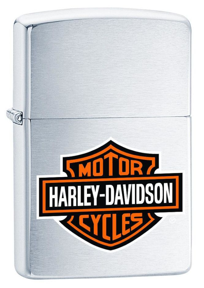 ZIPPO ACCENDINO HARLEY DAVIDSON® 1pz BAR & SHIELD COLOR