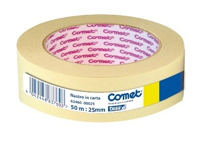 SCOTCH CARTA 25mm X 50mt CARTA SARACREP 1pz