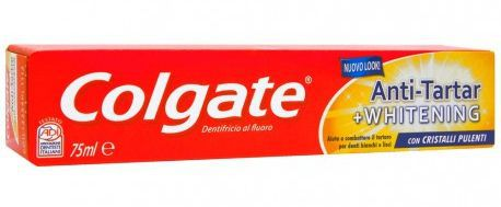 DENTIFRICIO COLGATE ANTIARTARO WHITE 75ml 1pz