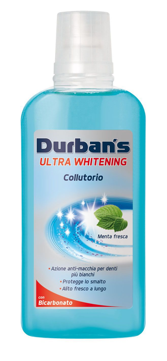 COLLUTTORIO DURBANS 500ml 1pz ULTRA WHITE BICARBONATO