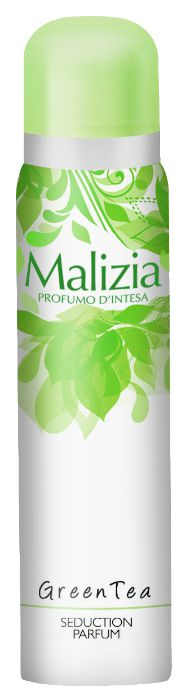 DEODORANTE MALIZIA DEO SPRAY GREEN TEA 100ml