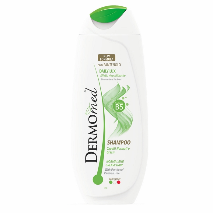 SHAMPOO DERMOMED SH 250ml DAILY LUX VERDE 1pz - C12